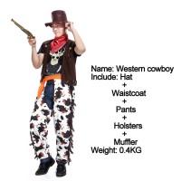 cowboy cosplay costume koboi pria halloween dewasa