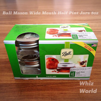 BEST PRICE Ball Mason Half Pint Jar Collections Elite Toples Kaca
