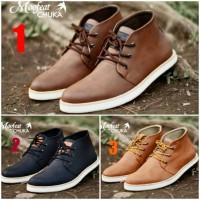 Moofeat Chuka Original / Sepatu semi boot pria / Sepatu Moofeat mu2