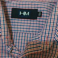 Kemeja Harry Martin ( HM impulse) ukuran 15 motif garis kotak