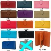 Grosir dompet wanita - dompet lipat kulit sintetis - Dompet murah