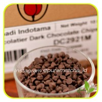 Chocolate Chips Tulip Dark Choco Chip Compound Cokelat Keping 250gr