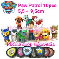 figure Paw Patrol 10pcs