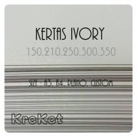 Kertas Ivory 310gram A3