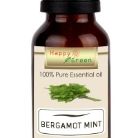Happy Green Bergamot Mint Essential Oil (10ml) - Minyak Lemon Mint