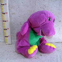 Boneka Barney Doll Original Barney Tm Barney & Friends 2nd