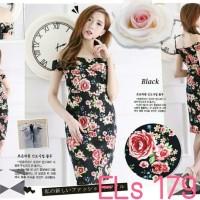 Dress pesta flowers