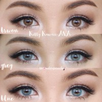 ORIGINAL Softlens soflens softlense MINI AVA BY KITTY KAWAII HYDRO +