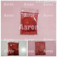 Bubuk Gliter Merah / Serbuk Gliter Red U321