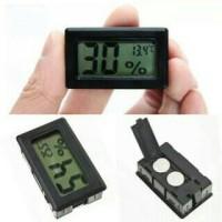 Digital Hygrometer Thermometer Termometer Mini Alat Ukur Kelembaban