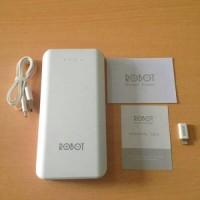 powerbank hippo snow white 5800 mah simple pack