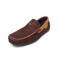 Dave - Coffee, Sepatu Kulit Moccasin
