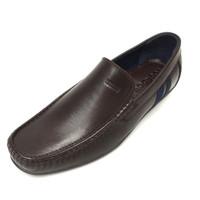 Sepatu Kulit Asli Pria | Calvin - Coffee, Sepatu Kulit Moccasin
