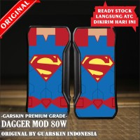 Original Garskin Skin Mod Vape Dagger - Superman
