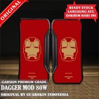 Original Garskin Skin Mod Vape Dagger - Ironman S6 Edge