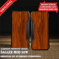 Original Garskin Skin Mod Vape Dagger - Motif Kayu / Wood