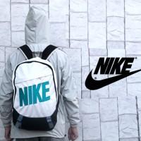 Tas Ransel Sport Nike (Putih-Hijau-Oren-Gendong,Sekolah) Premium 2017