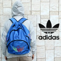 Tas Ransel Adidas Sport (Biru,Abu,Tosca,Stabilo,Gendong,Sekolah,Murah)