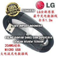 KABEL DATA CABLE MICRO USB CHARGER LG ORIGINAL 100%