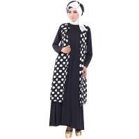 Long Dress Polkadot, Baju Hijab, Baju Setelan Inficlo SHJ 691