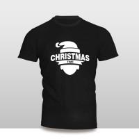 Kaos Baju Pakaian KAOS NATAL CHRISTMAS TIME SILUET MURAH