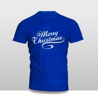 Kaos Baju Pakaian NATAL MERRY CHRISTMAS FONT 2 MURAH