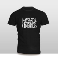 Kaos Baju Pakaian NATAL MERRY CHRISTMAS KOTAK FONT MURAH