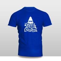 Kaos Baju Pakaian NATAL MERRY CHRISTMAS TREE FONT MURAH