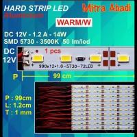 Hard Strip LED SMD 5730 Warm White 14 Watt 1 Meter
