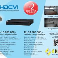Paket CCTV Dahua 16 Camera