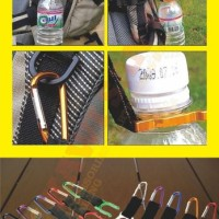 Holder Mineral Bottle Buckle Keychain / Pengait Botol Minum - MALANG