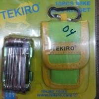 Kunci L Sepeda Lipat Set 10 Pcs Tekiro