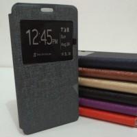 Lenovo A7000 Flip Cover Softcase Premium Leather Case - Ungu