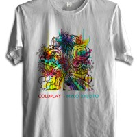 KAOS BAND COLDPLAY TSHIRT MUSIK COLD 22