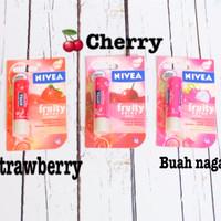 [ NIVEA LIPBALM ] NIVEA FRUITY SHINE LIPBALM