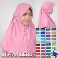 Jilbab Syari Jumbo Serut Instan Limited