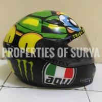 Sticker Decal Helm design AGV Tartaruga VR46