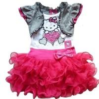 Baju Anak - Hello Kitty Cardi Set (GI-715)
