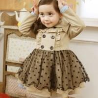 Baju Anak - Brown Coat (GI-716)