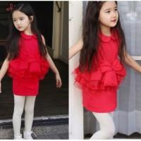 Baju Anak - Annica Flamingo Dress (GI-714)
