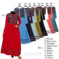 Gamis Jersey Gamis Bangkok Gamis Batik Songket