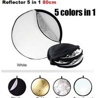 REFLECTOR 5 IN 1 80 CM HIGH QUALITY IMPORT REFLEKTOR 5IN1 80CM