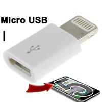Adapter micro usb to lightning 8 pin iphone 5, 6, ipad mini