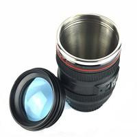 The Lens Cup Mug Stainless - Gelas Cangkir Lensa