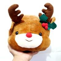 Boneka Reaindeer Rusa Natal Christmas santa 22cm