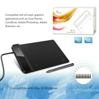 Tab XP-Pen Smart Graphics Drawing Pen Tablet with Passive Pen For PC