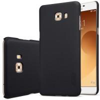 Nillkin Super Frosted Shield cover case Samsung Galaxy C9 Pro - Hitam