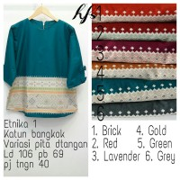 blouse / blus / baju muslim / atasan katun bangkok