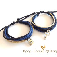 Gelang Couple Gelang Pasangan Gembok dan Kunci Couple 39