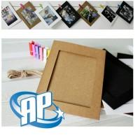 frame foto gantung 4R / wooden clip photo / frame foto / frame gantung
